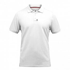 Поло ZHIK 20 Cotton Polo S/S XS White
