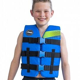 Жилет JOBE 20 Nylon Vest Youth Blue STD