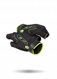 Перчатки ZHIK 21 G1 Half Finger Gloves XXL Black