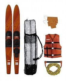 JOBE 21 Allegre Combo Skis Red Package 59''