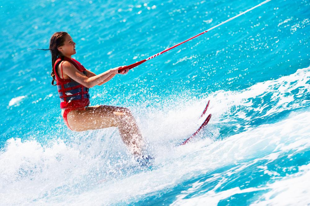 водные лыжи для рыбаков