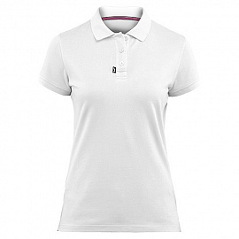 ZHIK 18 Cotton Polo S/S (Women) XS White